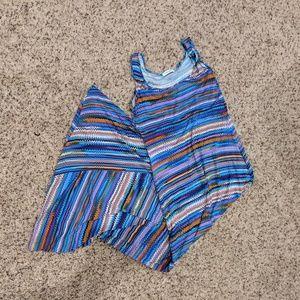 Calvin Klein Jersey Knit Sleeveless Maxi Dress